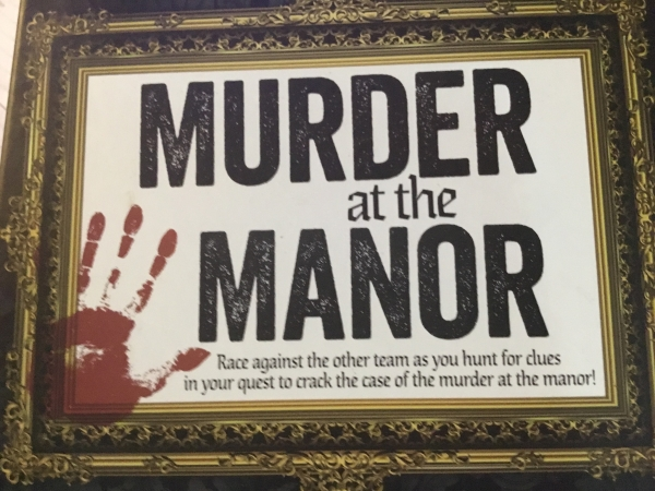 Murder At Mystery Manor - 28th February